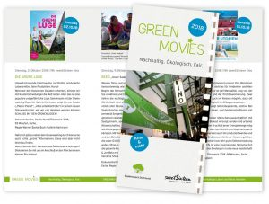 image Flyer green movies 2018