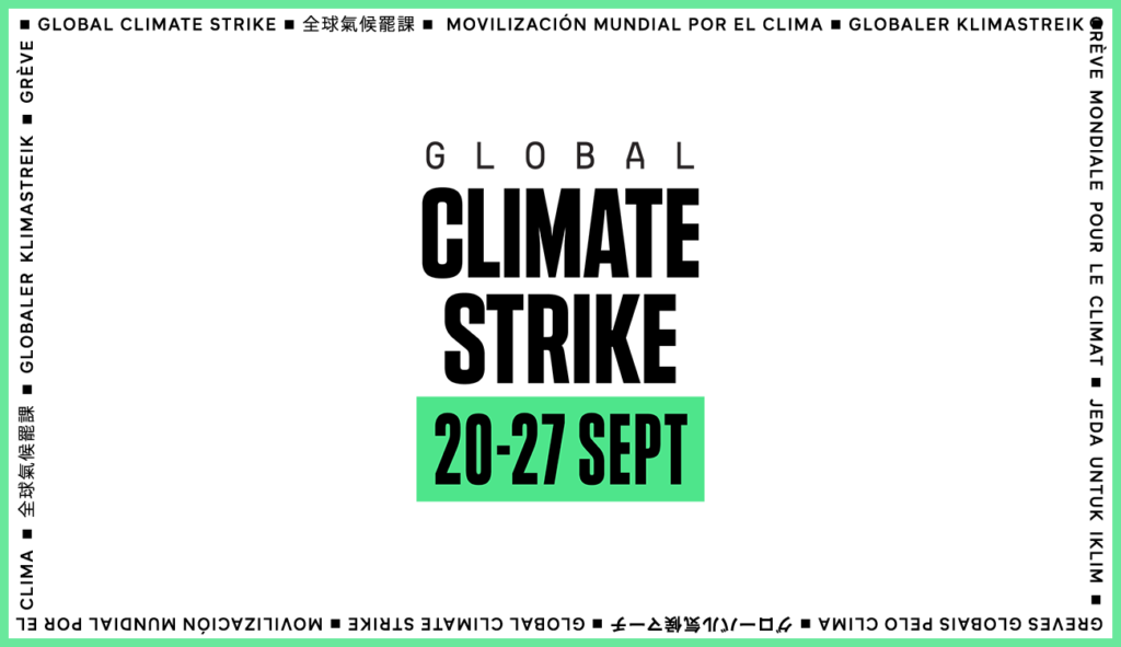 Banner Climate Strike